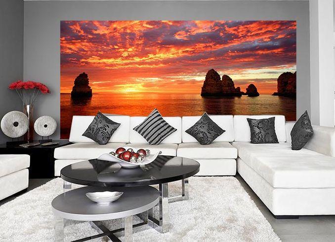 salon-zachód słońca