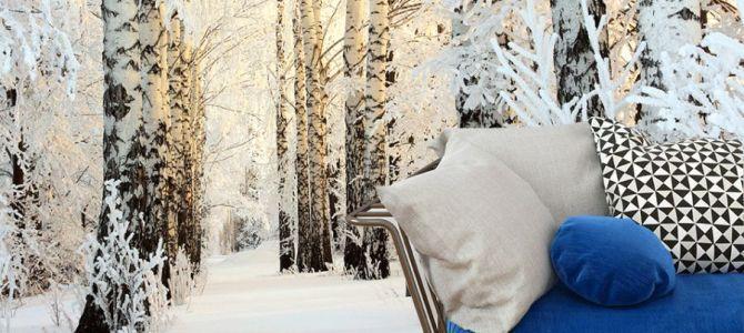 Fototapety z motywem zimy