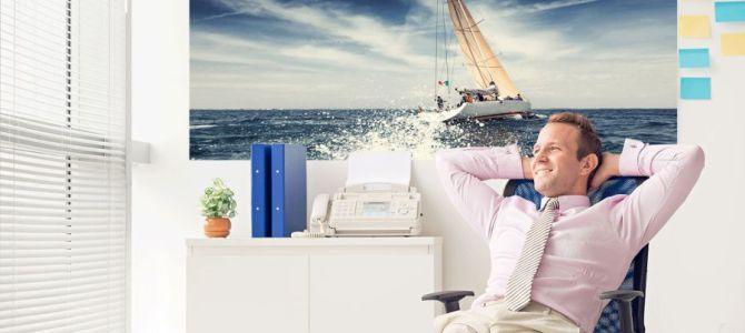 Fototapeta do biura – pomysł na eleganckie biuro