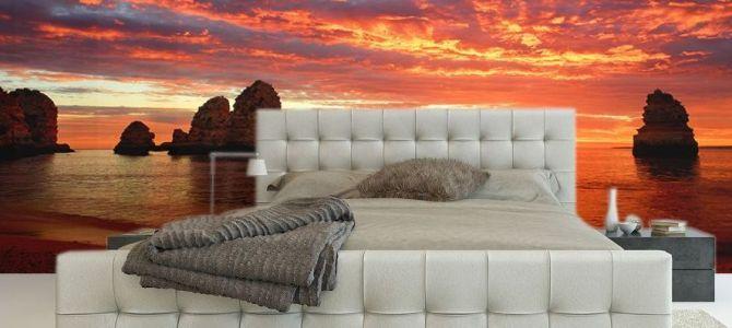Zachody słońca – temat na ciekawą dekorację ściany