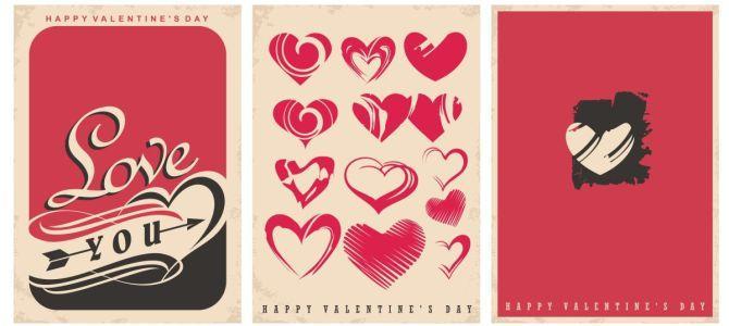 Walentynkowe plakaty