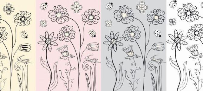 Kwiatowa kolekcja tapet