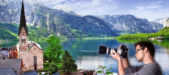 Fototapety z górskimi widokami