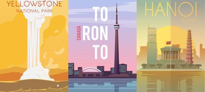 Plakaty dla miłośników podróży