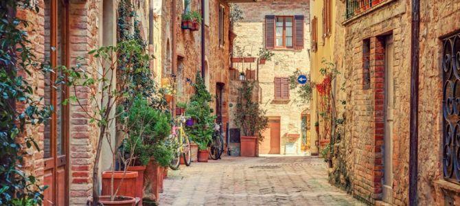 Popularne tematy: piękne uliczki