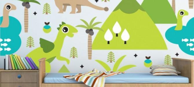 Rysunkowe tapety dla dzieci
