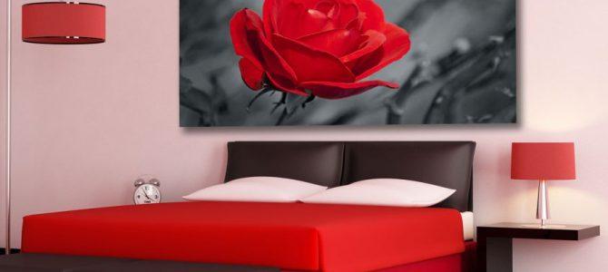 Obrazy drukowane do sypialni
