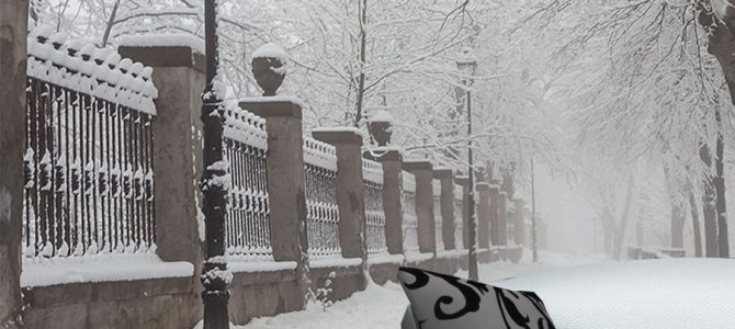 Zimowe obrazy, tapety i naklejki